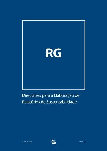 Directrizes para a Elaboração de Relatórios de Sustentabilidade