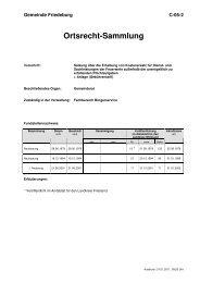 C-05-2 Satzung über die Erhebung von Kostenersatz ... - Friedeburg