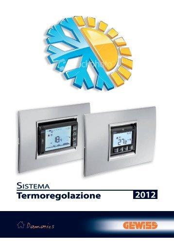 Esempi di termoregolazione - Gewiss