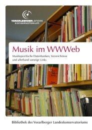 Musik im Wwweb