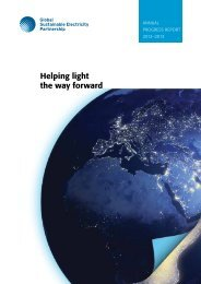 June 2013 PDF - 24 pages - Global Sustainable Electricity Partnership