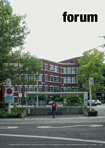 forum 1/2013 - Gew-koeln.de