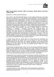 Kavka (Stauff) - Gesellschaft für Medienwissenschaft e.V. (GfM)