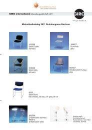 Mobiliar Katalog 2011 - geoENERGIA