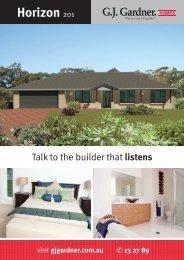 Horizon 201 - G.J. Gardner Homes