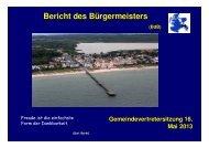 Gemeindevertretung vom 16.05.2013 - Gemeinde Binz