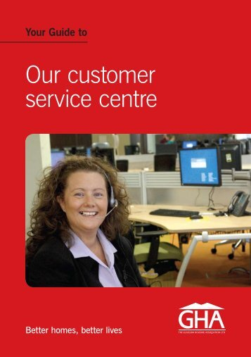 Your guide to Customer Service - Glasgow Housing Association