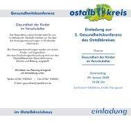 im ostalbkreishaus - Gesundheitsnetz Ostalbkreis