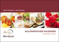 Kulinarischer Kalender 2013 - the Golden Tulip Berlin - Hotel ...