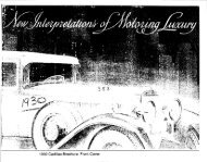 1930 Cadillac Brochure Front Cover - GM Heritage Center