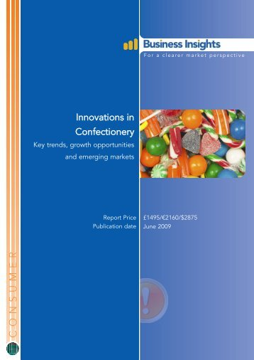 Innovations in Confectionery: Key trends, growth ... - Business Insights