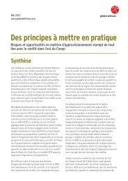 Un document d'information publié en français ... - Global Witness
