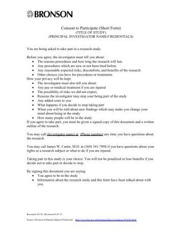 protocol synopsis template - full irb review protocol summary form with informed