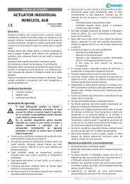 ACTUATOR INDIVIDUAL WIRELESS, ALB - German Electronics