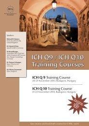 ICH Q 9 Training Course - European Compliance Academy