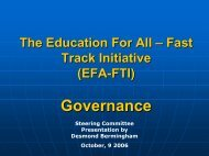 EFA-FTI - Global Partnership for Education