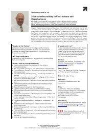 Mitarbeiterbeurteilung in Unternehmen und Organisationen