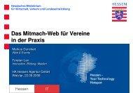 Web 2.0 - Gemeinsam aktiv