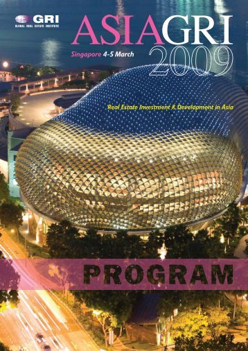Download Program - Global Real Estate Institute
