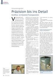 Präzision bis ins Detail - GEA Diessel GmbH
