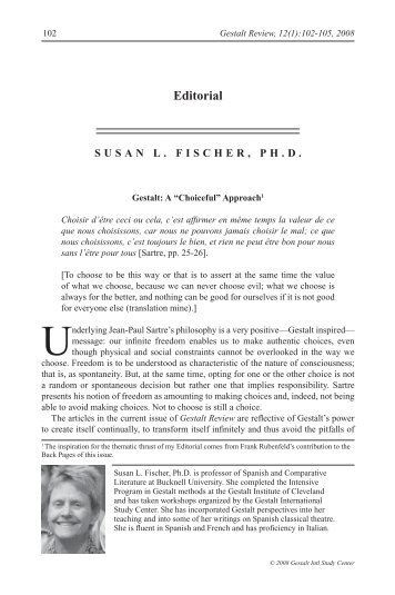 Relational approaches in gestalt therapy gestalt international editorial gestalt international study center fandeluxe Images