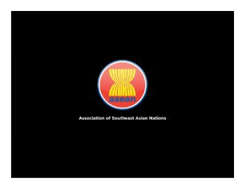 Association of Southeast Asian Nations - GDLN Asia Pacific