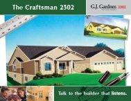 The Craftsman 2302 - G.J. Gardner Homes