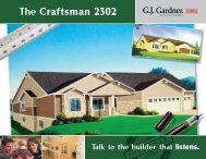The Craftsman 2302 - G.J. Gardner Homes