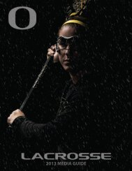 2013 MEDIA GUIDE - GoDucks.com