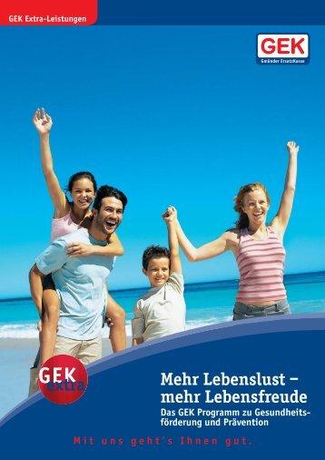 233 GEK Praevention 24S - Gesundheitsnetz Ostalbkreis