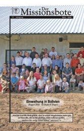 Missionsbote - Gemeinde Gottes