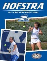 2011– 12 Men's and woMen's Tennis - GoHofstra.com