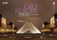 Paris 15-16 September - Global Real Estate Institute