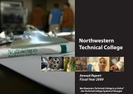 NTC Annual Report - Georgia Northwestern Technical College