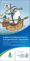 Flyer (pdf, 1023.15 KByte) - Gesunde Kinder - Kommt mit in das ...