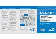 GIS-TAGUNG - GeoBranchen