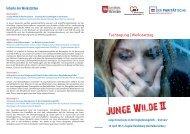 Junge Wilde II - Der PARITÄTISCHE Sachsen Anhalt