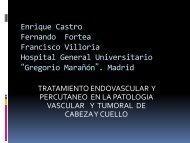 quimioterapia intraarterial en el carcinoma vanzado de ... - Geyseco