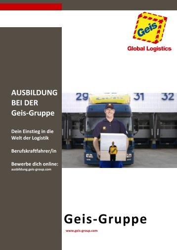 Infobroschüre - Geis Group