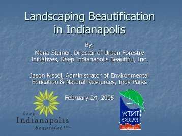 Landscaping Beautification in Indianapolis - GLPTI