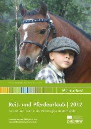Reit- und Pferdeurlaub | 2012