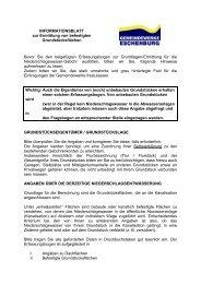 Informationsblatt zur Ermittlung von befestigten Grundstücksflächen