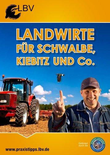Landwirte für Schwalbe. Kiebitz & Co. - Gregor Louisoder ...