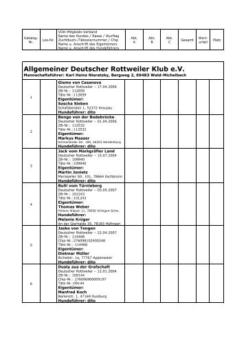 Deutscher Hundesportverband eV