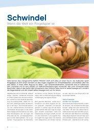 Schwindel - Symptom mit vielen Wurzeln - gesund-in-ooe.at