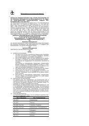 Bekanntmachung der Hansestadt Attendorn Satzung der ...