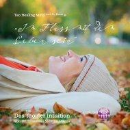 BUCH: Im Fluss mit dem Leben sein - Das Tao der Intuition - von Dr. Ernestina S. Mazza