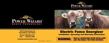 Electric Fence Energizer