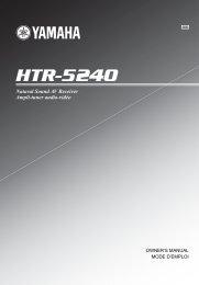 HTR-5240 - Yamaha