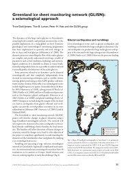 Geological Survey of Denmark and Greenland Bulletin 20 ... - GLISN